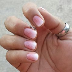 Sns Ombre Nail Art Pinterest Sns Nails Colors Sparkle Nails