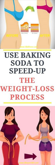Baking soda is used to help you have a flat belly. It helps your digestion because it is an alkaline substance. Luckily for you, it can also help you lose all the unwanted kilograms! It's excellent for your overall health!