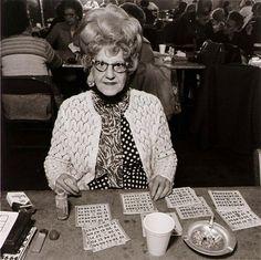 Bingo Player, Saint Casimer's Church Hall, 1979.