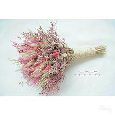 En doğal kuru çiçek gelin buke | gelinbuketi geli