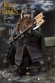 1//6 scale Toy Gimli Lord of the Rings Shoulder Armor