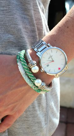 Handmade Lily and Laura Bracelets, Free Shipping!