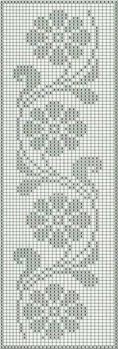 Gráficos de tapete de crochê cada modelo top Cross Stitch Beginner, Tiny Cross Stitch, Cross Stitch Borders, Cross Stitch Flowers, Cross Stitch Designs, Cross Stitch Embroidery, Cross Stitch Patterns, Crochet Curtains, Crochet Doilies