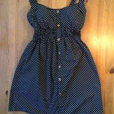 Phopsady Polka Dot Dress Excellent condition size m has a little padding in bust area 32 in long 19 in inseam Dresses Midi