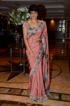 Mandira Bedi Latest Hot Cleveage Spicy Traditional Saree PhotoShoot Images At Hinduja Healthcare Launch ★ Desipixer  ★