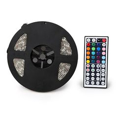 Flexible Color-Changing Light Strip with Remote at Savings off Retail! Led Light Strips, Led Strip, Color Changing Lights, Energy Consumption, Unique Lighting, Strip Lighting, All Modern, Flexibility, Remote