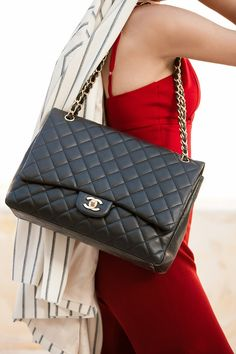 Chanel by misszeit. Via @elroci. #Chanel #handbags