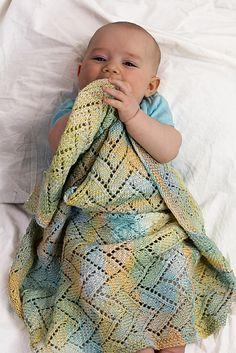 Ravelry: A Tisket A Tasket Baby Blanket pattern by Shannon Dunbabin