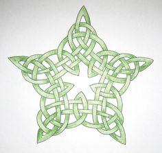 Celtic star tattoo