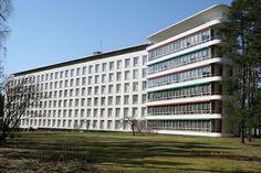 Paimio Sanatorium - Aalto