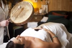 The American Journal of Public Health reviewed shamanic drumming in its April 2003 edition, concluding that drumming activities induce holistic modes of consciousness through synchronous brain activity and provide a vital connection with the spiritual dimensions of human health that have been lacking in modern societies. Research reviews indicate that drumming accelerates physical healing, boosts the immune system and produces feelings of well-being, and release of emotional trauma.