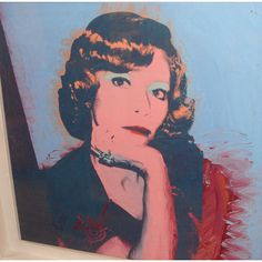 Andy Warhol - Miss Smith - Acrylique et sérigraphie sur toile - 100 x 100 cm - Circa 1974 Jackie Kennedy, Andy Warhol Pop Art, Portrait, Disney Characters, Fictional Characters, Painting, Instagram, Paris, Cookies