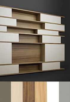 Farbschemata- Premium Tischlerqualität - dein eigenes Traumregal A Shelf, Shelves, Vertical Or Horizontal, Shelf Design, Open Shelving, Designer, Personal Style, Ideas, Home Decor