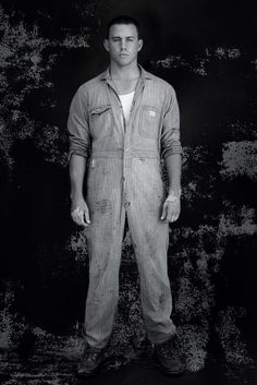 Channing Tatum Stripped for T Magazine October 2014 Cover Photo Shoot Mens Coveralls, Coach Carter, Mood Indigo, T Magazine, Charming Man, Dear John, Channing Tatum, American Actors, Cover Photos