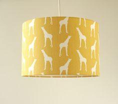 Deckenlampen - Kinderzimmer Lampe Giraffen Gelb modernes Design - ein Designerstück von bartienes bei DaWanda Twinkle Twinkle Little Star, Kidsroom, Designer, Table Lamp, Etsy, Lighting, Yellow, Paper, Home Decor