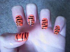 Tiger fingernails!