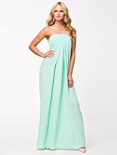 Olly Maxi Dress - Aq/Aq - Seafoam Green - Party Dresses - Clothing - Women - Nelly.com