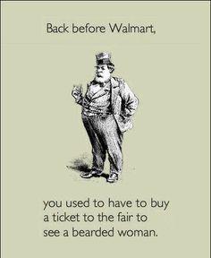 Those crazy people of Walmart