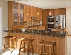 American Contemporary Kitchen Renovation: Fort Washington, PA - Home and Garden Design Ideas