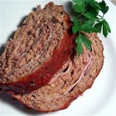 That's-a Meatloaf | There's a special surprise winding its way through this tasty meatloaf.
