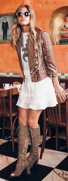 Boho Lovely Outfit                                                                             Source
