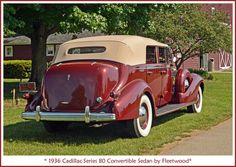 1936 Cadillac Series 80 V12 Phaeton