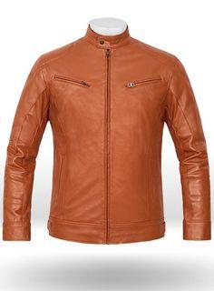 Terrain Brown Leather Jacket