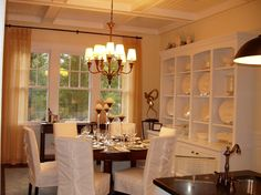 Nantucket Style Home - Interior dining room