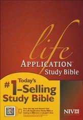 NIV Life Application Study Bible, Hardcover