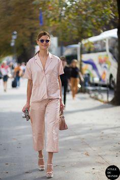 Paris FW SS15 Street Style: Hanneli Mustaparta