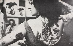 Vintage Photos Of Tattooed Women Are Your Grandpa's Suicide Girls [25 Photos]