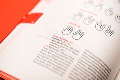 """Das Handbuch Editorial Design by Marie Zieger""""This booklet has been designed as part of the communication design major at JOANNEUM University of Applied Sciences. It all revolved around the word »hand«. 30 students were given terms referring to the main subject and the goal was to create a kind of a dictionary related to the human hand. There were no limits to the approach – illustration, photography, typography, pretty much everything was possible. Text had to be added by the students, and…"""