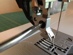 How to attach the free motion foot onto a Pfaff Ambition