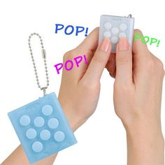 New Electronic Bubble Wrap Keychain Stress Relief Toy - I need one of these!!