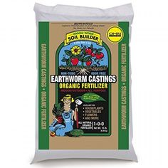 "Soon to be known as the ""World's Greatest Organic Fertilizer!"". Wiggle Worm Soil Builder PURE earthworm castings are surely Mother Nature's best kept growing secret. You need only use a small amount in or around your houseplants, vegetables and flowers. 