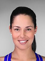 Ana Ivanovic Residence: Bern, Switzerland Date of Birth: 06 Nov 1987 Birthplace: Belgrade, Serbia Height: 6' (1.84 m) Weight: 152 lbs. (69 kg) Plays: Right-handed (two-handed backhand) Status: Pro (August 2003) Official Site