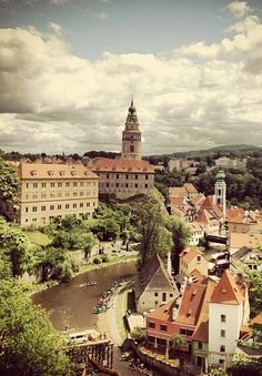 Český Krumlov, Czechoslovakia