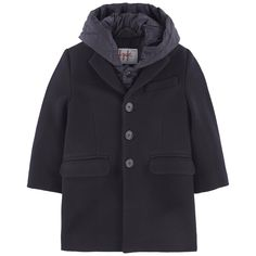 e8b024b087544 Coat and hooded jacket Il Gufo for boys | Melijoe.com. Gilet À  CapucheManteauDrap ...