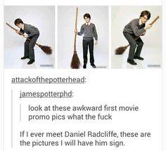 These awkward promo pics.