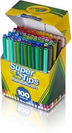 Stationary School, School Stationery, Cute Stationery, Bullet Journal School, Bullet Journal Ideas Pages, Crayola Supertips, School Suplies, Stabilo Boss, Back To School Supplies