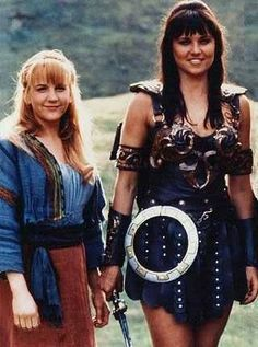 Xena Warrior Princess and Gabrielle