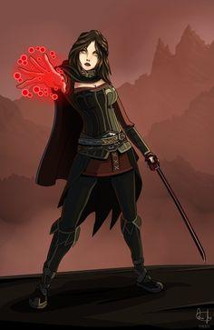 Serana [TES- Skyrim, Dawnguard DLC] by Grunt45 on DeviantArt