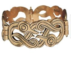 "Iku-Turso (""ancient octopus""), a Finnish sea monster, here unusually positively depicted in a bracelet from 900-1000AD."