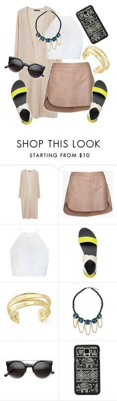"""""""Untitled #293"""" by renae-perrie-edwards ❤ liked on Polyvore featuring Violeta by Mango, Mason by Michelle Mason, Zimmermann, Reef, Elizabeth and James and Samsung"""