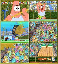 Photo of Patrick Star Funny for fans of patrick star (spongebob). He's so funny!