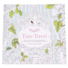 Time Travel Anti-stress Coloring Book Relief Stress For Kids Adults 14 Pages S