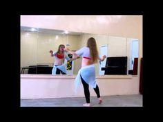 """Каракатица"" Как делать?Танец живота уроки"