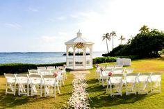 Kahala resort wedding