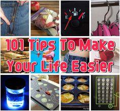101 Tips To Make Your Life Easier | UsefulDIY.com