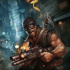 تحديث Modern Combat 5 الآن متوفر على #اندرويد!  عادت شهر خرائط تعدد اللاعبين من MC3 و MC4. تخفيض السعر الى 3.99$! by gameloft_arabic
